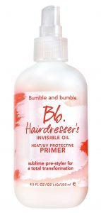 Bb hairdresser invisible oil