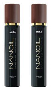 Nanoil für Haare mit geringer Porosität und Normaler Porosität
